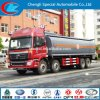 Caminhão de combustível do caminhão de petroleiro 35cbm do combustível do caminhão 8X4 30cbm do depósito de gasolina 4cbm 30ton