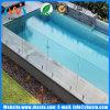 La sécurité extérieure de la piscine a trempé trempé en clôture en verre à vendre