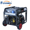 Luft abgekühlte Generator-/Generator-Sets des Benzin-6kw mit Griff-u. Rad-Installationssatz