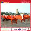 20/40/45FT Yard-Kanal-Terminalbehälter-halb Schlussteil mit Skelettartig-Rahmen
