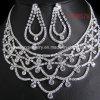 Wedding Rhinestone Jewelry Set, Bridal Jewelry Set, Fashion Necklace