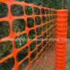 Maglia di plastica arancione di sicurezza