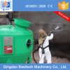 El tanque/crisol portables manuales de la chorreadora de arena de la presión