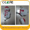 Movimentação da pena do USB da forma do boneco de neve do PVC (POR EXEMPLO 609)