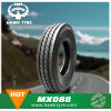 El carro radial Mx088 pone un neumático 12.00r24 Superhawk y la marca de fábrica de Marvemax