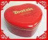 Grande caixa do estanho do chocolate da forma de Heart