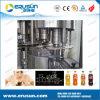 Machine de remplissage de boisson de CDD de capuchon de couronne en métal d'acier inoxydable
