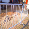 Portable Galvanized Metal Crowd Control Barriers