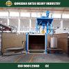Laufkatze-Tabellen-Sandstrahlgerät/Granaliengebläse-Gerät