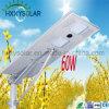 integriertes LED Solarstraßenlaterneder hohe des Lumen-60W Qualitäts