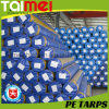 PE Tarpaulin Roll di 50~300GSM Waterproof per Covering