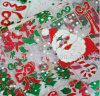 Banheira de novo tecido organza decorativos de Natal