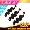 Выдвижения 100% человеческих волос объемной волны девственницы перуанские