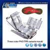 Molde tricolor de PVC/TPR Outsole