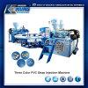 2017 macchina dell'iniezione della cinghia del PVC di tre colori