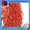 Palline rosse di Masterbatch di verde di plastica di gomma di colore dei prodotti chimici LDPE/HDPE