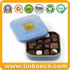 금속 식품 포장 상자 정연한 주문 초콜렛 건빵 양철 깡통