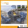 이동할 수 있는 안뜰 화재 구덩이 테이블 홈 또는 호텔 BBQ 석쇠 정원 라운지용 의자 옥외 가구