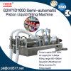 Halbautomatischer Kolben-flüssige Füllmaschine für Bad-Schaumgummi (G2WYD1000)
