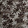 À armure satin lourd africains brodé Tissu de polyester et de flocage pour toile de lin textile