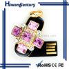 ダイヤモンドの十字の宝石類USBのフラッシュドライブ(HWSJ-JY0042)
