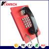Construção à prova de sistemas de portas de entrada de telefone de emergência Knzd Intercomunicador-07BANCO A