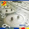 三菱のための掘削機の部品6D14tの分解検査のガスケットキット