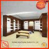 Portátil de design do cliente de varejo de madeira do dispositivo de exibição de vestuário para armazenar