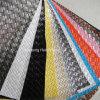 Cuero modificado para requisitos particulares del sofá del PVC de la tela de los muebles