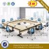 백색 색깔 멜라민 사무실 책상 회의 회의 테이블 (NS-CF013)