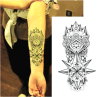 Autoadesivo provvisorio del tatuaggio di arte dell'autoadesivo del tatuaggio del totem della spina di modo 3D