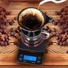 타이머 부엌 가늠자를 가진 커피 가늠자