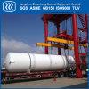 Tanque de transporte de gás industrial azoto de oxigénio líquido do tanque de CO2