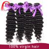 Выдвижение человеческих волос оптовой высокомарочной волны Remy глубокой бразильское