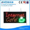 Muestra del café LED del Internet de la energía del ahorro del rectángulo de Hidly