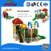 Os slides de Equipamentos Usados educacionais para crianças parque ao ar livre