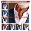 ジャカードペーズリーの絹の長いスカーフのCravatのアスコットのタイのネクタイ(B8068)
