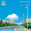 Angeschaltene Straßenlaternesolar der Einsparung-Energie-30W-100W