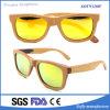 Óculos de sol de madeira do skate da forma para unisex polarizados