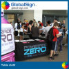 Trade Show Heat Transfer Printed Polyester Table Covers