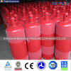 Acero de baja presión estándar de 40L acetileno C2H2 del cilindro el cilindro