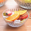 Ciotola di vetro del silice dell'insalata all'ingrosso della ciotola di vetro