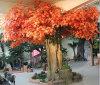 Kundenspezifischer Landschaftsdekoration-künstlicher rotes Ahornholz-Baum