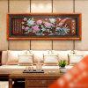 Pintura decorativa do Chinoiserie com o jade que cinzela para a decoração Home