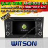 Witson Android 4.4 System Car DVD voor Audi A4 (W2-A6964)