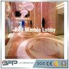 Mattonelle di marmo spesse rosse della decorazione 10mm dell'agata popolare della Cina per il rivestimento per pavimenti Polished o del parete