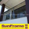 Balustade semplice di alluminio/rete fissa per il balcone della villa