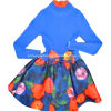 100% Cotton Knitted Girl Sweater in Round Neck Long Sleeve (C-12)