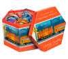 Caixa de empacotamento do brinquedo do papel de impressão do hexágono