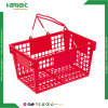 Cesta de compras de plástico de estilo americano (HBE-B-15)
